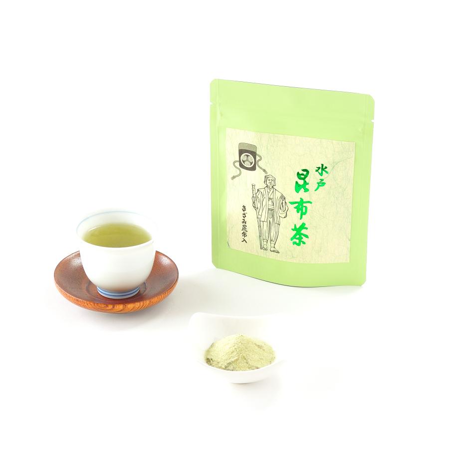 昆布茶(こんぶ茶)チャック付きスタンドパック
