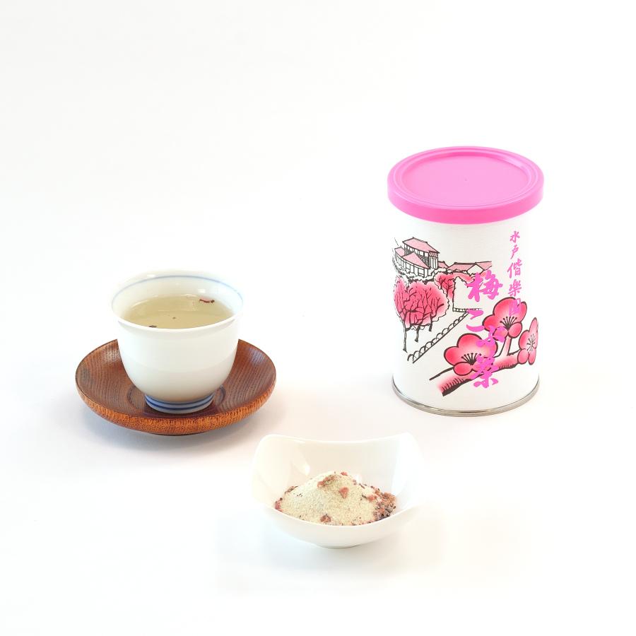 梅こぶ茶缶