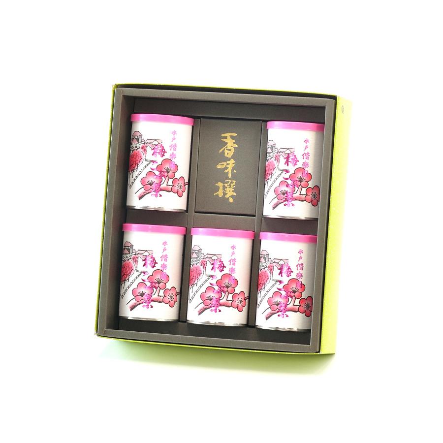 梅こぶ茶缶5本セット