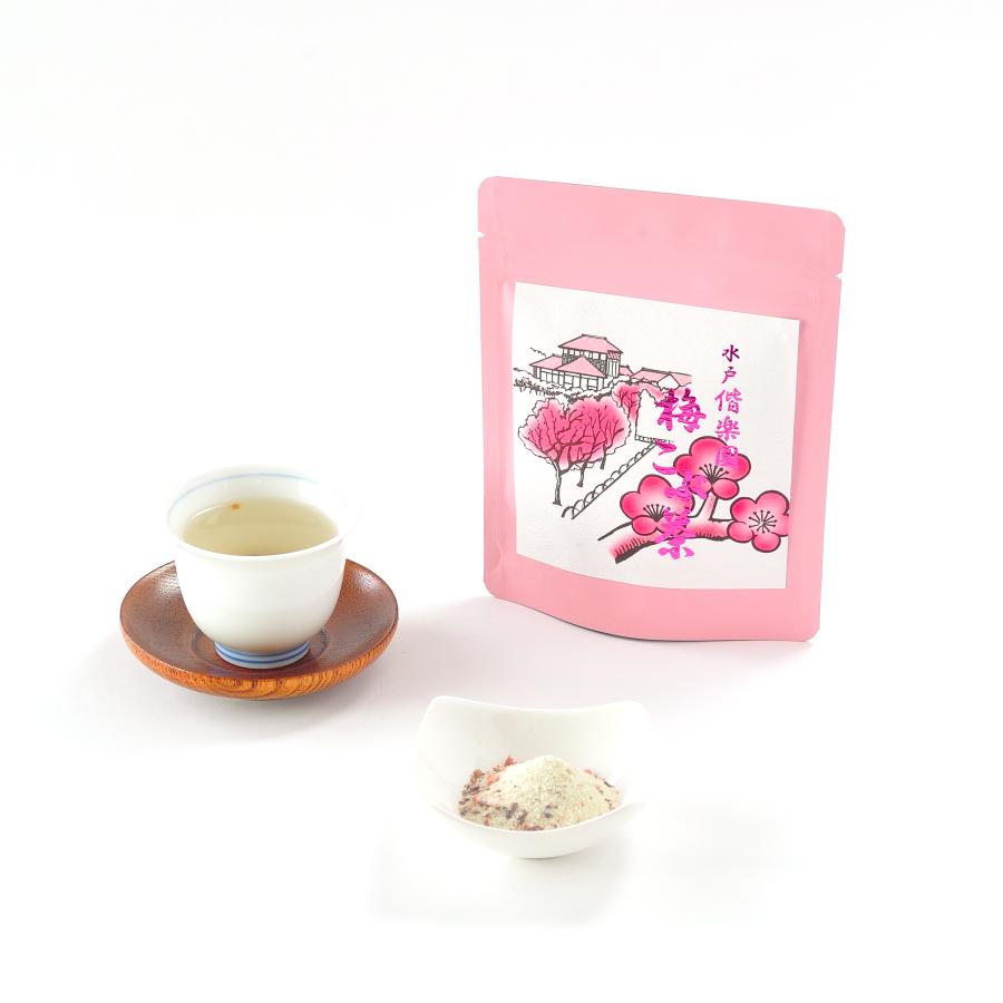 梅こぶ茶(梅昆布茶)チャック付きスタンドパック
